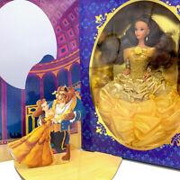Vtg 1996 Disney Beauty and the Beast Belle Doll #16089 NRFB MIB Mattel