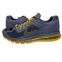 Nike Men's Size 13 Michigan Wolverines Air Max Sneakers Running Shoes Blue