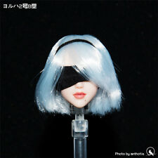 1/6 NieR:Automata YoRHa No. 2 Type B Head Sculpt Girl Head Model W Movable Eyes