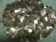 HUGE PILE OF 2000+ CANADIAN MODERN PENNIES MOSTLY BU RED SHINING