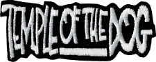 9342 Temple of the Dog Logo Embroidered IRON ON PATCH Music Punk 1990's Rock