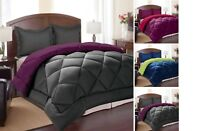 7 PIECE BED IN A BAG - DOWN ALTERNATIVE COMFORTER, SHEETS, PILLOWCASES AND SHAMS