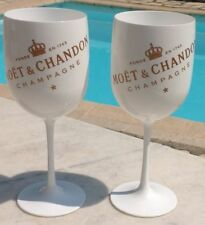MOET CHANDON ICE IMPERIAL CHAMPAGNE FLUTES X 2 UNBOXED NEW STYLE 2017 BRAND NEW