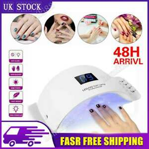 Nail Lamp UV LED Light Professional Tool Dryer Gel Curing Machine Timer Use 24W
