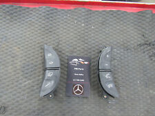 00-06 Mercedes W220 S500 CL500 CL55 AMG Steering Wheel Control Buttons Black OEM