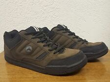 Men's Airwalk Brown Faux Suede Casual Skateboard Athletic Shoe - Size 8.5