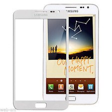 VETRO ESTERNO TOUCH SCREEN DISPLAY SAMSUNG GALAXY NOTE N7000 i9220 BIANCO WHITE