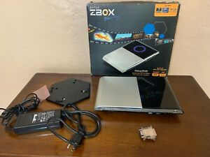 Used Zotac Z-BOX Blu-ray Mini PC HD-ID34, NO  Hard Drive see pics Used A4