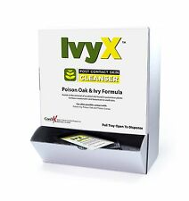 CoreTex® Ivy X™ Towelettes, Post-Contact Cleanser, 50 ct Dispenser Box (84661)