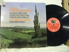 ASD 2750 ELGAR Enigma Variations WILLIAMS English Folk etc LSO BOULT HMV STEREO