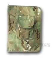 BRITISH ARMY A4 NIREX FOLDER HOLDER COMMANDER MULTICAM MTP NYREX WATERPROOF