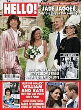 HELLO,Mick Jade Jagger,Janis Winehouse,Kate Middleton,Jane Fond,Katie Holmes NEW