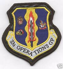 33rd OPS GROUP ON LEATHER GAGGLE patch