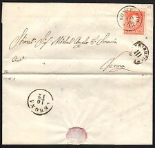 STORIA POSTALE ASI 1860 Lettera LV 5s da San Bonifacio a Verona (FB2)