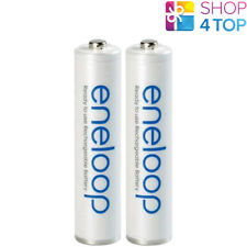 2 PANASONIC ENELOOP RECHARGEABLE AAA HR03 BATTERIES 1.2V 800mAh NEW