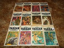 EDGAR RICE BURROUGHS~COMPLETE 24 BOOK TARZAN COLLECTION~ALL MATCHING BALLANTINE