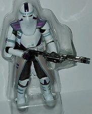 Star Wars GALACTIC MARINE Figure Order 66 Purple Clone Trooper Target Exclusive
