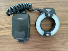 Canon MR 14EX Ring Light/Macro Flash - GREAT Condition - Incl. Box/Soft Case