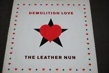 "THE LEATHER NUN ""Demolition Love"" 12"" MAXI VINYL / WIRE RECORDS - 363-365 / 1988"