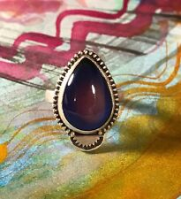 SALE!! Sterling silver mood ring!! Handmade. Made To Size.