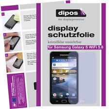 2x Samsung Galaxy S WiFi 5.0 Schutzfolie klar Displayschutzfolie Folie Passgenau