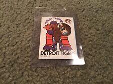 1973  Detroit Tigers pocket schedule