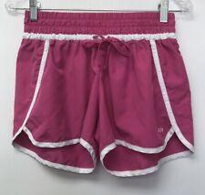 Champion Womens Size Medium Athletic Shorts Pink White