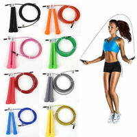 HOT 3M Steel Wire Speed Skipping Jump Rope Adjustable Crossfit Fitnesss Exercise
