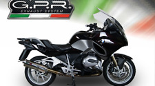BMW R1200RT 2015/16 EXHAUST STAINLESS TRIOVAL BY GPR EXHAUSTS ITALY