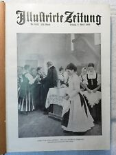 Illustrierte Illustrirte Zeitung 1909 Sammelband April - Juni 1909 Mappe