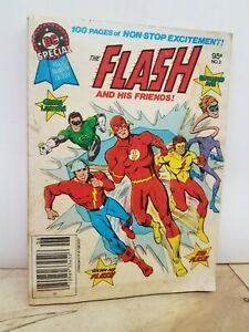 BEST OF DC - BLUE RIBBON DIGEST - #2 THE FLASH AND HIS FRIENDS  -  May/June 1980