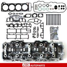 Fits 85-95 Toyota 2.4L SOHC 22R Complete Cylinder Head, Head Gasket Set W/ Bolts