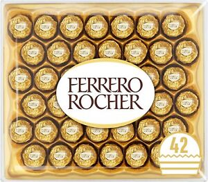 Ferrero Rocher Chocolate Set Box of 42 Pieces