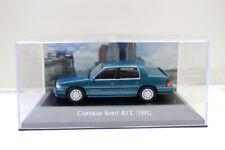 New 1/43 Scale Diecast Model Car Chrysler Spririt R/T 1991 For collection