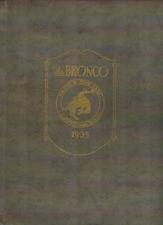 Blackfoot Idaho High School Yearbook 1925 The Bronco