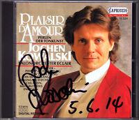 Jochen KOWALSKI Signiert PLAISIR D'AMOUR Salonorchester Eclair Vor Liebchens Tür