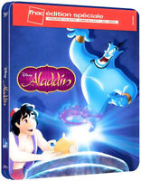 Blu-ray Aladdin Disney Steelbook Édition Limitée Exclusive Fnac France