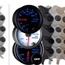 FORD F350 Automotive Guages GLOWSHIFT GUAGES WITH 3 HOLE PILLAR
