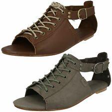 Ladies CAT Peep Toe Sandals 'Meghan'