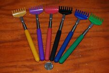 Lot of 6pc Telescopic Back Scratcher Extendable Free Shipping