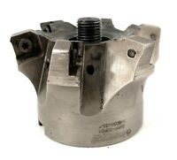 """🌟Ingersoll 5M6P-30R01, Indexable High-Feed Face Mill, Roughing Cutter, 3"""" Dia."""