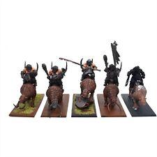 Warhammer Sigmar Ogre Ogor Kingdoms Mawtribes Mournfang Pack x 5