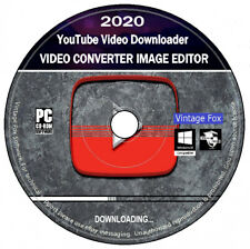 YouTube Video Downloader + Ultimate Video Converter + Image Editor HD 4K PC DVD