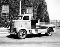 "1939 US Forest Service Truck, California Vintage Old Photo 8.5"" x 11"" Reprint"