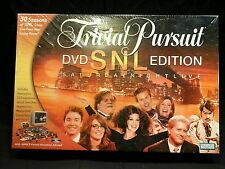 Trivial Pursuit SNL Edition DVD Board Game ** NEW & SEALED ***