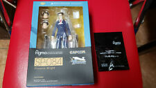 Ace Attorney Phoenix Wright figma figure Max Factory with Bonus Face part SP-084
