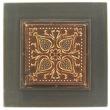 Amazing  Black Wood & Metal Wall Plaque.Focal piece  Home Decor