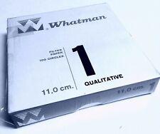 11 /µ Pack of 100 Whatman 1001-110 Whatman 1001-110 Qualitative Filter Papers; 11.0 cm Diameter; Pore Size