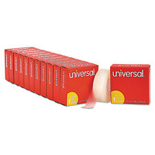 """Universal Invisible Tape 3/4"""" x 1296"""" 1"""" Core Clear 12/Pack 83436VP"""