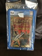 Fantastic Four 48 CGC 9.6 White Pages 1st Silver Surfer Galactus